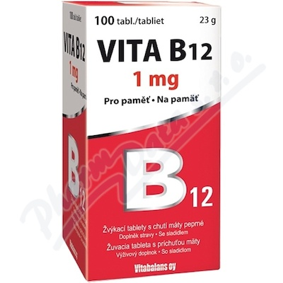 Vita B12 1mg 100 tablet