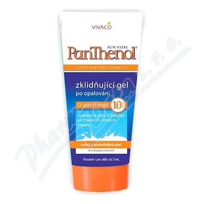 Zobrazit detail - PANTHENOL 10% zklid�uj�c� gel po opalov�n� 200ml
