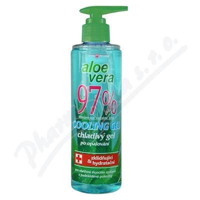 Zobrazit detail - Aloe vera 97% chladivý gel po opalování 250ml
