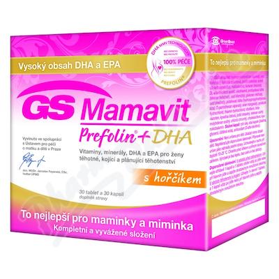 Zobrazit detail - GS Mamavit Prefolin+DHA+EPA tbl-cps. 30+30 2016