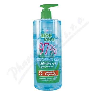 Zobrazit detail - Aloe Vera 97% chladivý gel po opalování 500ml