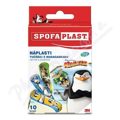 3M Spofaplast 112 Nápl.tučňáci z Madagaskaru 10ks