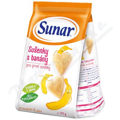 Zobrazit detail - Sunárek sušenky s banány 175g