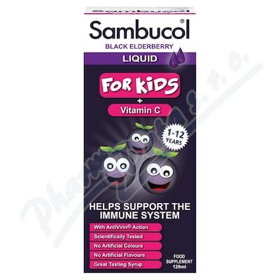 Zobrazit detail - SAMBUCOL Pro Děti + vitamin C Sirup 120 ml