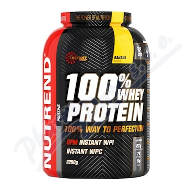 Zobrazit detail - NUTREND 100% Whey Protein banán 2250g