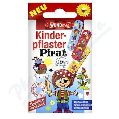 Zobrazit detail - Náplast WUNDmed dětská BOYS - Piráti 10ks