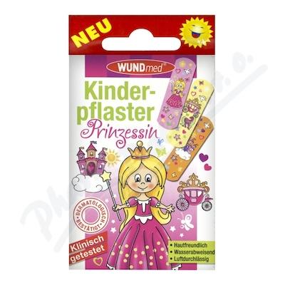 Zobrazit detail - Náplast WUNDmed dětská GIRLS - Princezny 10ks