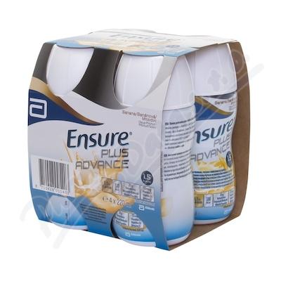 Zobrazit detail - Ensure Plus Advance banánová příchuť 4x220ml
