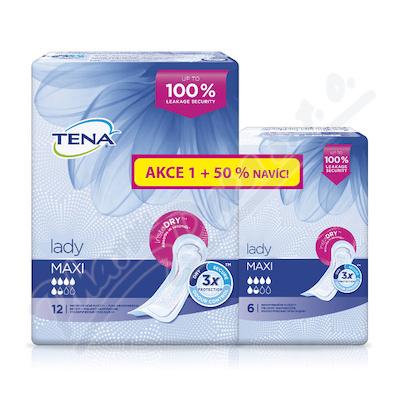 Zobrazit detail - Ink. vlož. TENA Lady Maxi +50% navíc 760960 18ks