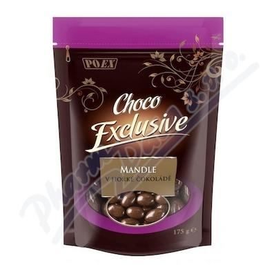 Mandle v hořké čokoládě 175g