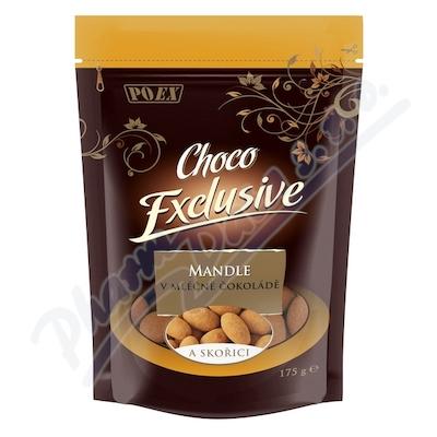 Zobrazit detail - Mandle v mléčné čokoládě se skořicí 175g