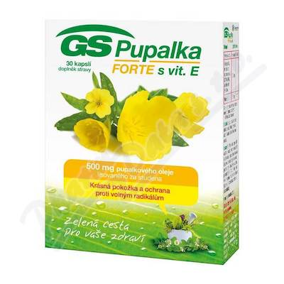 Zobrazit detail - GS Pupalka Forte s vitaminem E cps. 30 2016
