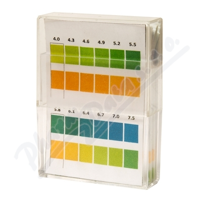 Zobrazit detail - Indikační pH papírky 100ks