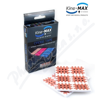 KineMAX Cross Tape k��ov� tejp vel. M 120ks