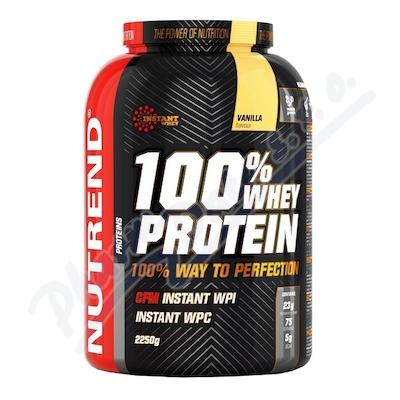 Zobrazit detail - NUTREND 100% Whey Protein vanilka 2250g