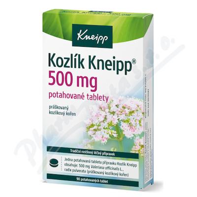 Zobrazit detail - KNEIPP Kozlík tbl. flm. 90x500mg