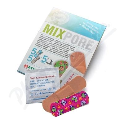 Zobrazit detail - MIXPORE Náplasti dětské a univ. +alk. polštářky 15ks