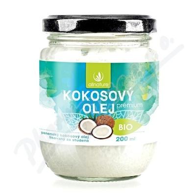 Zobrazit detail - Allnature Kokosový olej panenský BIO 200 ml