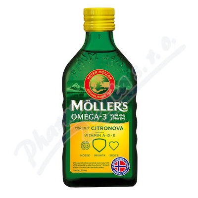 Zobrazit detail - Mollers Omega 3 Citron 250ml