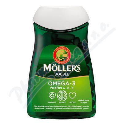 Zobrazit detail - Mollers Omega 3 Double 112 kapsli