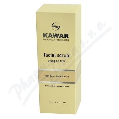 Zobrazit detail - KAWAR Píling na tvář s písk. a min. z Mrt. moře 150ml