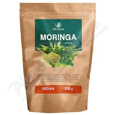 Allnature Moringa prášek RAW 200 g