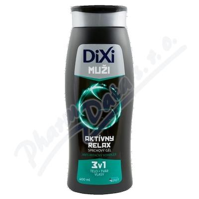 Dixi sprchový gel muži 3v1 Aktivní relax 400 ml