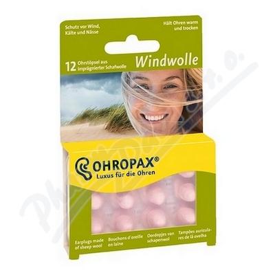 Zobrazit detail - Chránič sluchu Ohropax Windwolle 6 párů