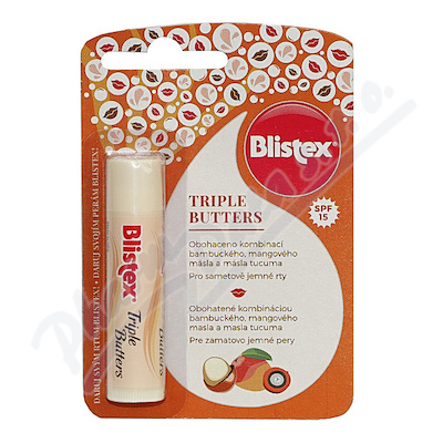 Zobrazit detail - Blistex Triple Butters 4. 25g