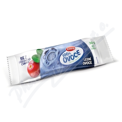 EMCO Tyčinka 100% ovoce Lesní ovoce 30g