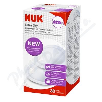 Zobrazit detail - NUK prsní polštářky ULTRA DRY 30ks 252123
