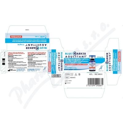 Zobrazit detail - Blue Marker Aguettant 10mg-ml FLA 1ml B10 UE