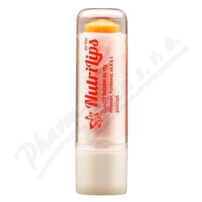 NutriLips balzám na rty s panthenolem jahoda 4.8g