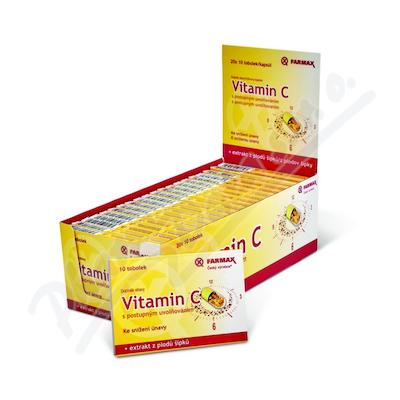 Vitamin C s postupným uvolňováním BOX 20x10 tob.