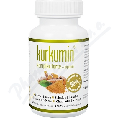 Zobrazit detail - Kurkumin Komplex Forte 300 mg cps. 60
