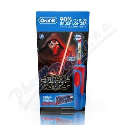 Zobrazit detail - Oral-B El. kart.  Vitality dětský Star Wars + penál
