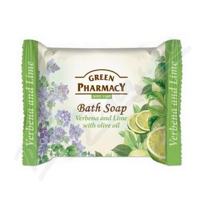 Zobrazit detail - Mýdlo s bylinkami limetkou a olivovým olejem 100g