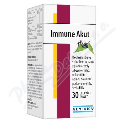 Zobrazit detail - Immune Akut tbl. 30 Generica