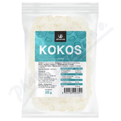 Zobrazit detail - Allnature Kokosové plátky 50 g