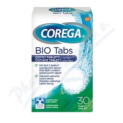 Zobrazit detail - Corega Bio Antibakteriální tablety 30 ks