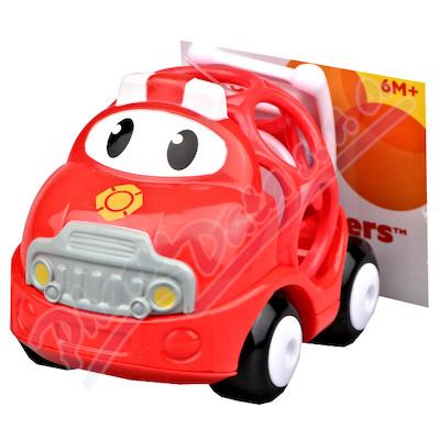 Zobrazit detail - BRIGHTSTARTS Hračka OBALL autíčko hasičské 18m+