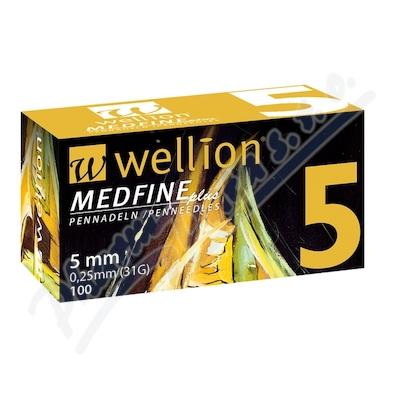 Jehly WELLION MEDFINE PLUS inz.pera 31Gx5mm/100ks