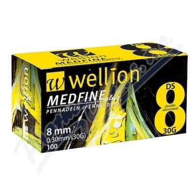 Zobrazit detail - Jehly WELLION MEDFINE PLUS inz. pera 30Gx8mm-100ks