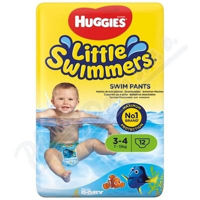 Zobrazit detail - HUGGIES Little Swimmers vel. 3-4-7-15kg 12ks
