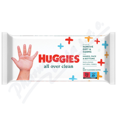 HUGGIES Single All Over Clean 56ks