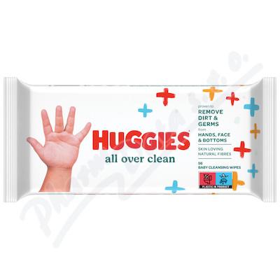 Zobrazit detail - HUGGIES Single All Over Clean 56ks