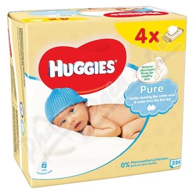 Zobrazit detail - HUGGIES Pure Quatro 56x4ks