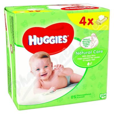 Zobrazit detail - HUGGIES Natural Care Quatro 56x4ks