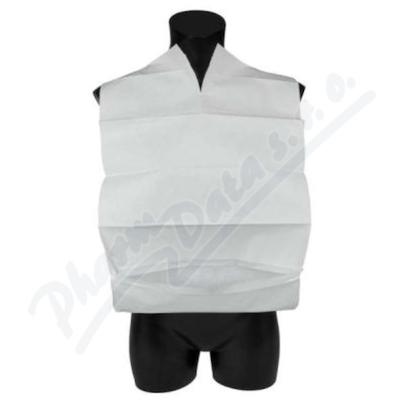 Zobrazit detail - Bryndák s kapsou 100 ks-bal.  bílý