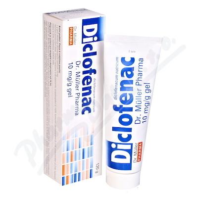 Zobrazit detail - Diclofenac Dr. Müller Pharma 10mg-g gel 120g